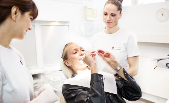 Tandblegning på klinikken