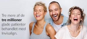 Invisalign bruges af over 3 millioner mennesker der ønsker lige tænder