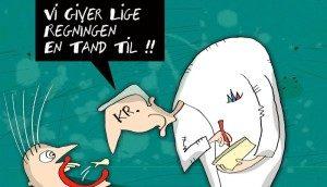 frisøren er ofte dyrere end tandlægen - bestil tid hos Østerbro tandlægerne